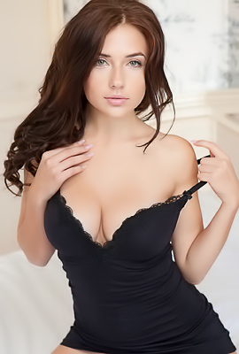 Petite Babe Niemira With Hot Natural Boobs