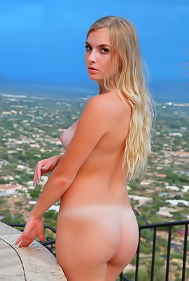 Angelina FTV Delicious Angelina FTV poses nude and in white bodysuit