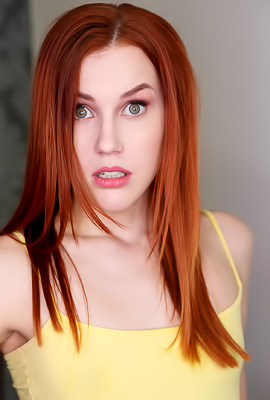 Redhead Teen Charlie Red Enjous Cum In Mouth