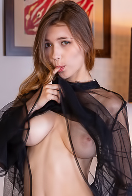Mila Azul Hot Model Pleasures Herself Avidly